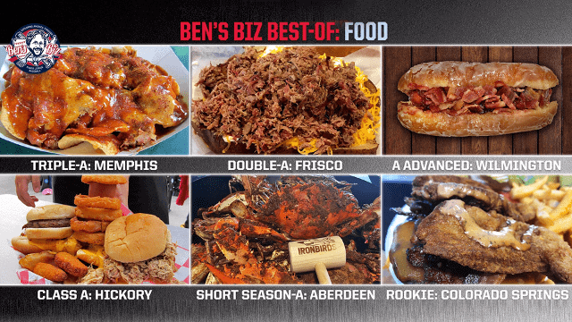 Ben's Best: Minors most memorable cuisine